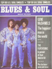 1970er Magazin Blues & Soul